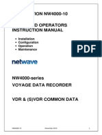 NW4000-10 VDR Ships and Operators Instruction Manual v 2.1.5