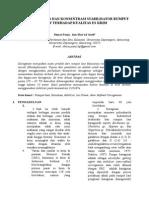 Pengaruh Jenis Dan Konsentrasi Stabilisator Terhadap Kualitas Es Krim