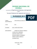 Informe Circuitos Electricos y Electronicos
