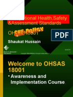 OSH Assessment Stds