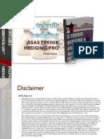 5 Teknik Hedging