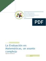Evaluación en Matemáticas