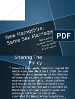 nh same sex marriage ppt