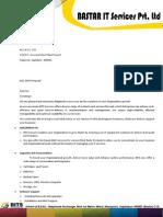 AMC Proposal for BEC Limited (1)