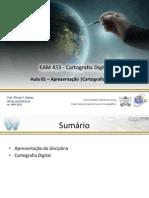 EAM433 Aula01-Cartografia Digital 07.10.2014