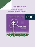 Marco Lopez y Margarita Araux. CD _PAN de VIDA