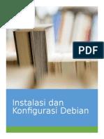 instalasi dan konfigurasi debian