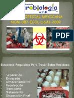 Práctica 1 Análisis de La NOM-087-ECOL-SSA1-2002