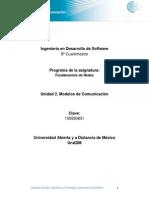 Unidad 2. Modelos de Comunicación (1)