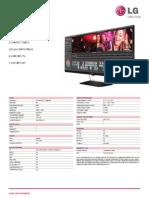 34UM65 Spec Sheet