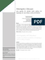 03 Arius v16 n1-2 Mh 06 Historiografia e Educacao