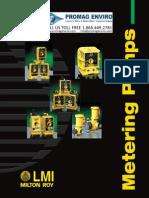 LMI Pump C Series Brochure PromagEnviro.com
