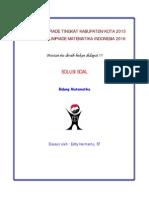 2015 SMA Matematika OSK Pembahasan