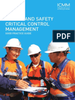 ICMM Health and Safety Critical Control Managment Good Practice Guide