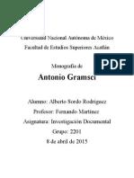 Monografía de Antonio Gramsci