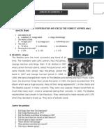 English Exam - Junior Beginners