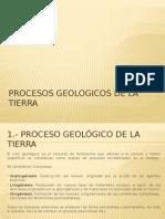 Procesos Geologicos de La Tierra
