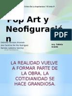 Pop Art y Neofiguracion