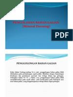 Pengolahan Bahan Galian PDF