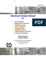 Electrical Design Manual for Hospitals