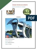 Portafolio Digital de Estatica Gustavo Genaro Pomaquero Pinda
