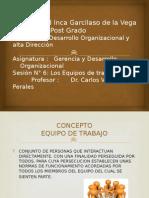 Sesión 6_ Los Equipos de Trabajo _ Elmer Ruiz