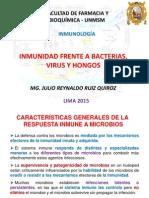 Inmunidad Frente a Bacterias, Virus y Hongos
