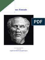 Plotinus Enneads Free Electronic Text