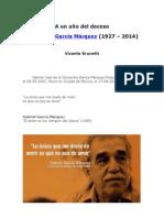 A un año del deceso de Gabriel García Márquez (1927-2014) - Vicente Brunetti