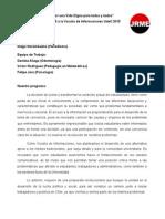 """""""Por una Vida Digna para todas y todos"""" - Lista B a Vocalía de Informaciones 2015"""