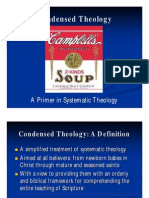 Condensed Theology, Lecture 1