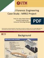 Case Study Bridge Crosshead Cracking
