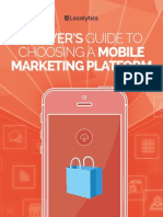 A Buyers Guide to Choosing a Mobile Marketing Platform