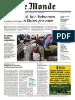 Monde 2 en 1 Du Dimanche 19 Avril 2015