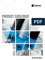 Roxtec Product Catalogue GB FI RU SE IT 2011 2012