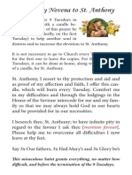 9-Tuesday Novena to St. Anthony