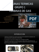 Grupo 1 Turbinas de Gas