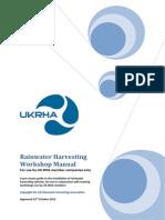 Rainwater Harvesting Workshop Manual-UK-RHA_2012