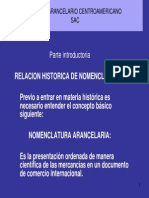 instructivo del sistema arancelario centroamericano