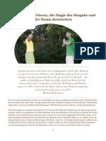 Präsenz und Hingabe - Essenz des Männlichen & des Weiblichen