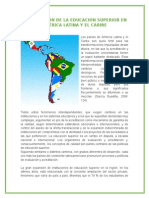 Acreditación de La Educación Superior en América Latina y El Caribe