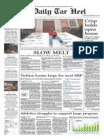 The Daily Tar Heel for Feb. 2, 2010