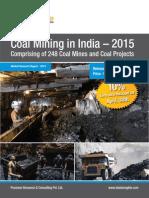 Coal Mining in India 2015