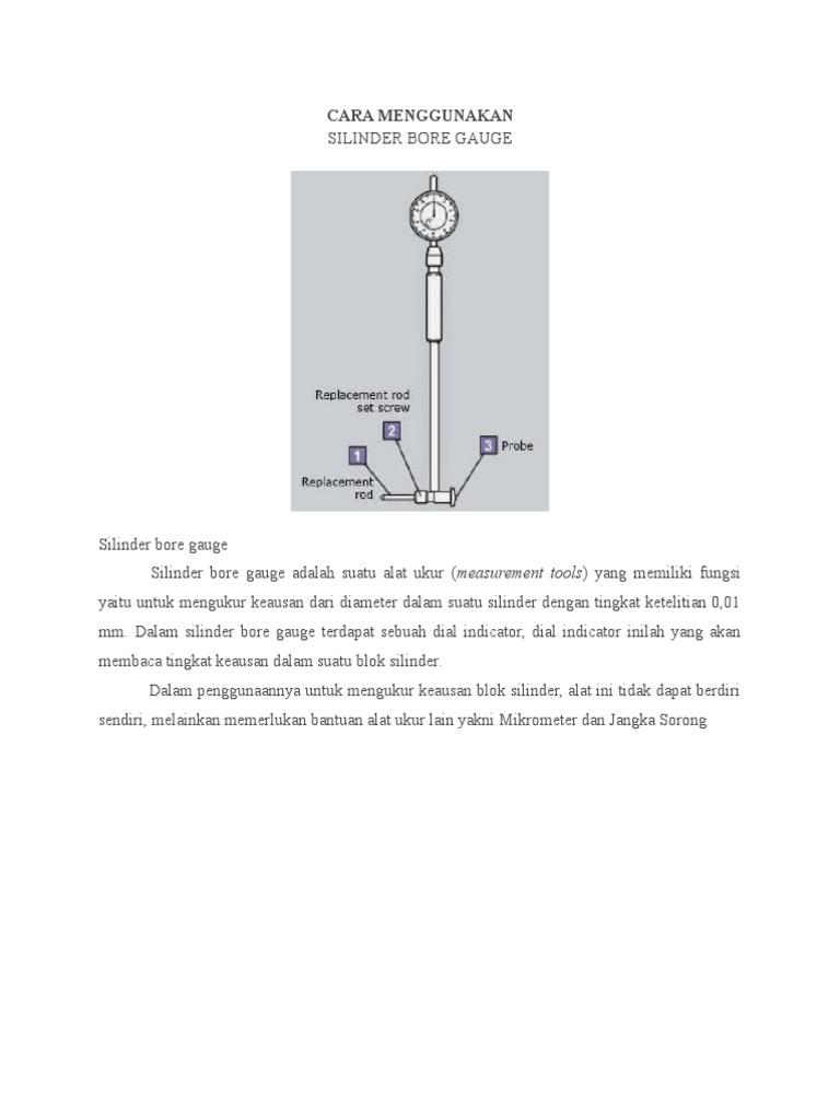 Cara menggunakan bore gaugecx ccuart Choice Image