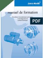 Manuel de Formation Procédures de Maintenance Préventif Et Diagnostic Du Système Électrique