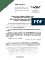 Perioada Fiscala TVA 2014