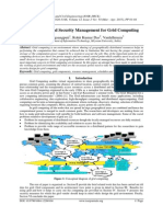 Architectural and Security Management for Grid Computing