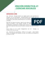 Programación Lomce 1º Ciencias Sociales