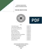 Laporan Praktikum Bedah Veteriner Umum - Teknik Menyuntik