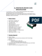 Printer EPM 203 Specification APS